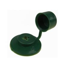 Заглушка кровельная (шайба) с колпачком  зеленая