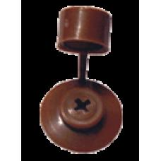 Заглушка кровельная (шайба) с колпачком (8017) кор