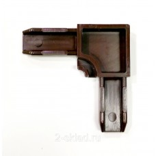 Уголок соединительный  металл  (кор) 30мм