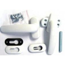 Гарнитур нажимной раздельный белый НГ-85.45.01